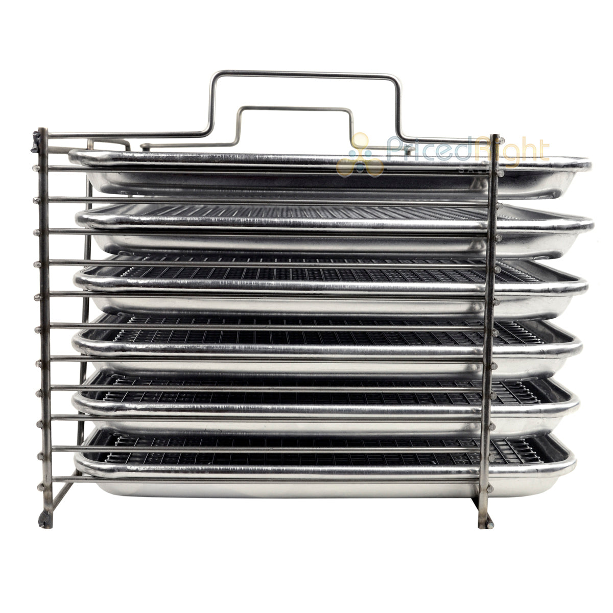 Bull Rack Grill Tray System BR6 Ultimate Package Grilling More Space Smoke Dry