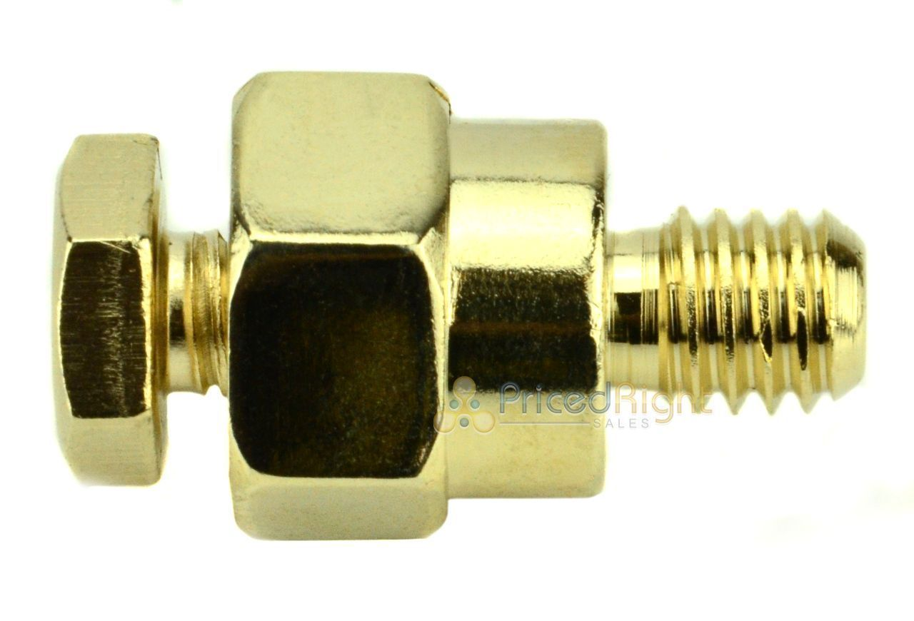 Gold Plated Short Side Post Mount GM GMC Battery Terminal Tap Xscorpion BTPS-G