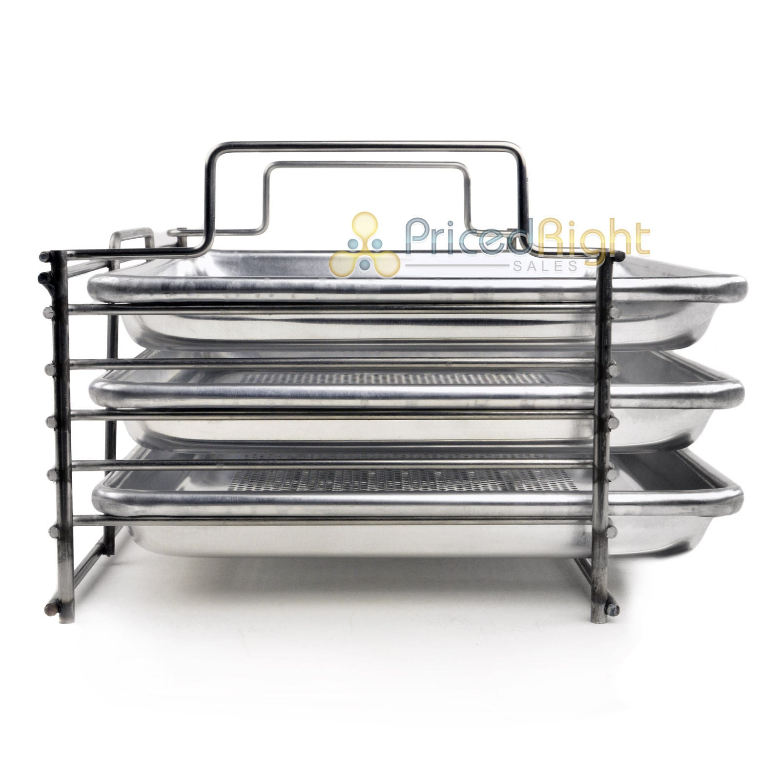 Bull Rack Grill Racking Tray System BR3 Grilling More Space Jerky Fish Pizza New