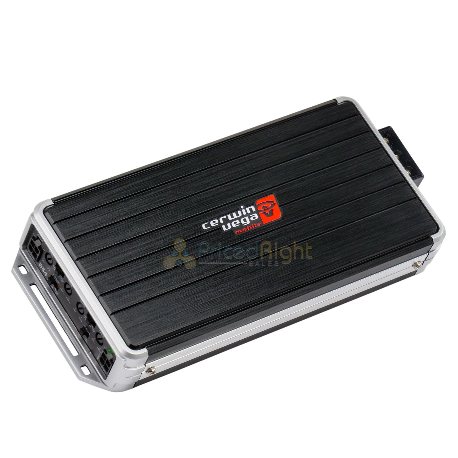 4 Channel Digital Amplifier 1200 Watts Max Power Cerwin Vega B54 Bomber Series