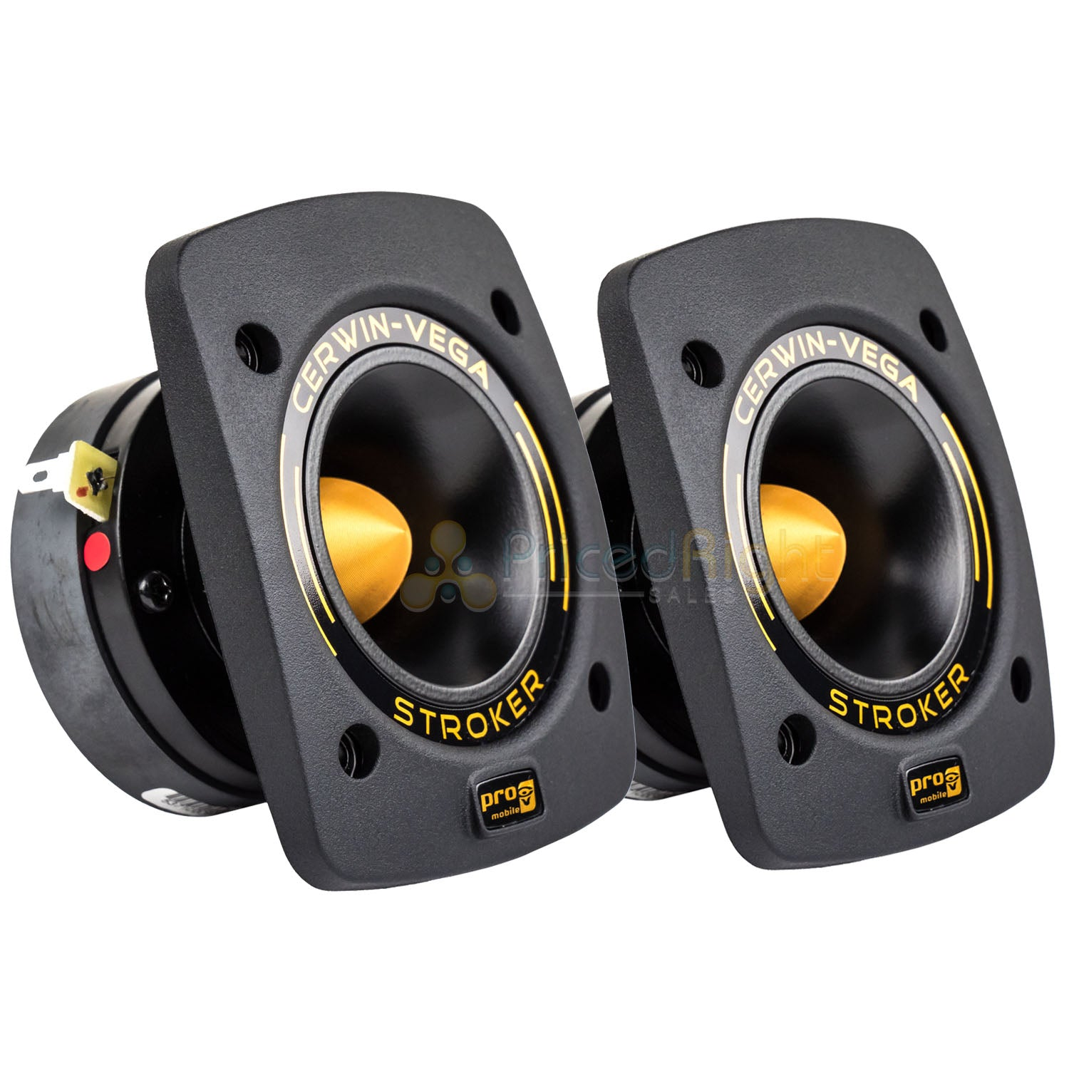 "Cerwin Vega 1"" Compression Tweeters All Weather IPX65 50W RMS CVMPCL1.0T Pair"