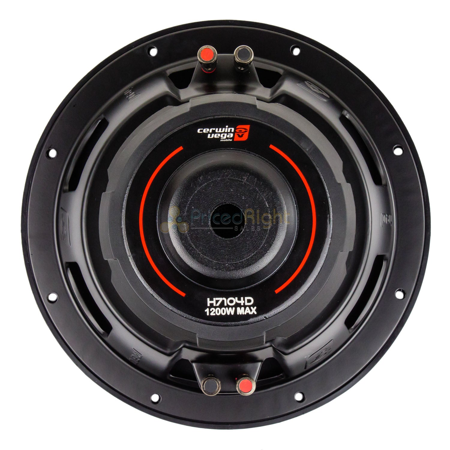 "2 Pack Cerwin Vega 10"" Subwoofer Dual 4 Ohm 1200W Max DVC HED Series H7104D"