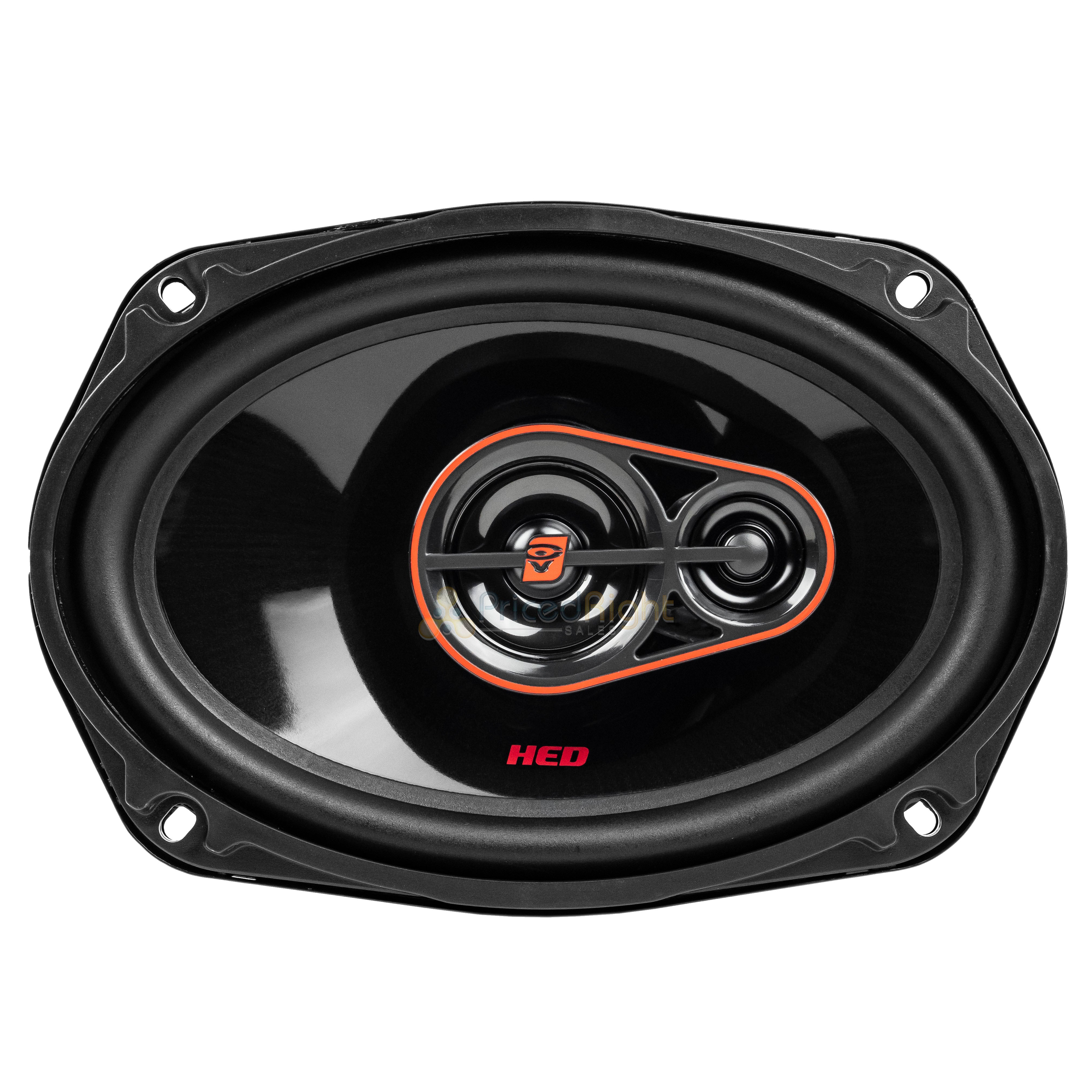 "Cerwin Vega H7693 6"" x 9"" 3 Way Coaxial Car Speakers 4 Ohm 420 Watts Max Pair"