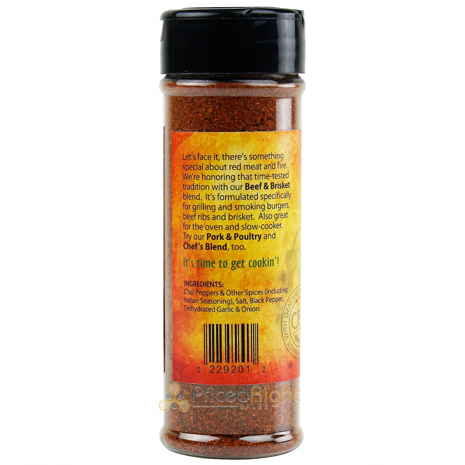 Cowhorn Pepper Company Beef & Brisket Seasoning No MSG Gluten and Sugar Free