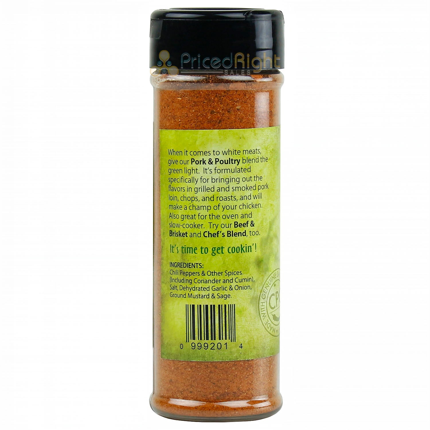 Pepper Company Pork & Poultry Seasoning Made with Genuine Smoked Cowhorn Peppers