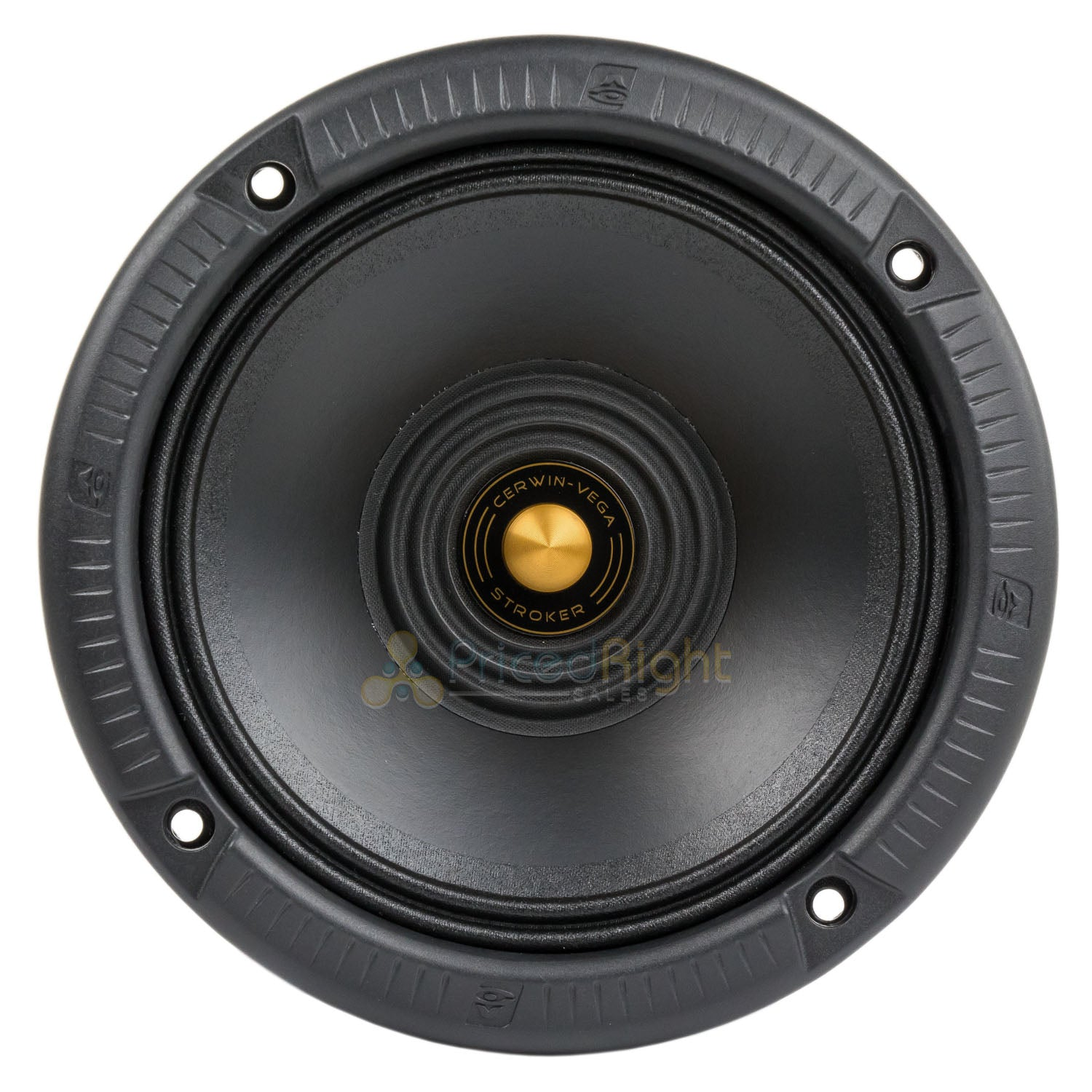 "4 Pack 6.5"" Full Range Speakers 200 Watts Max All Weather Car Audio CVMPCL6.5"