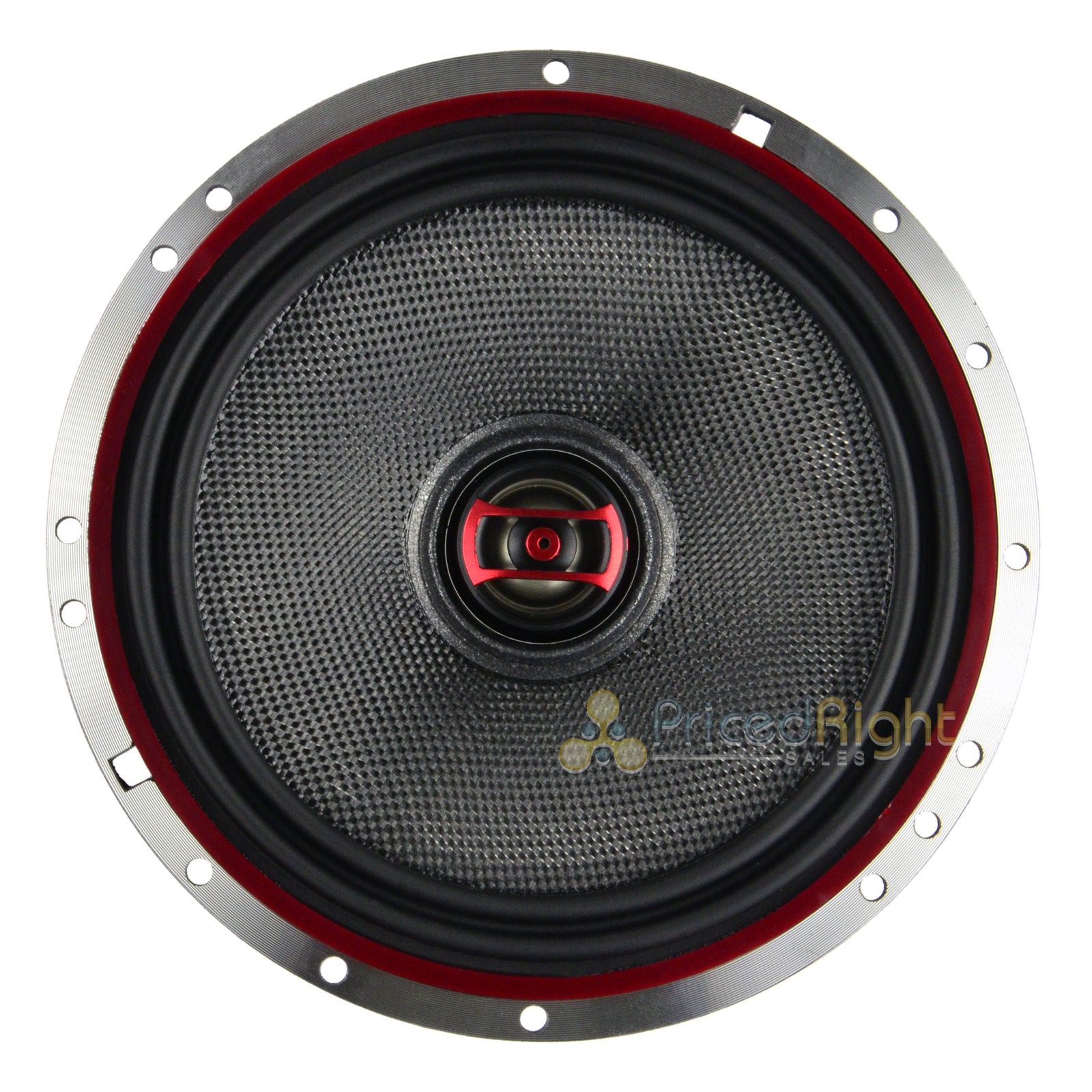 "DS18 EXL-SQ6.5 Pair 6.5"" 2 Way Coaxial Speaker 400 Watts Max Power 2 Speakers"