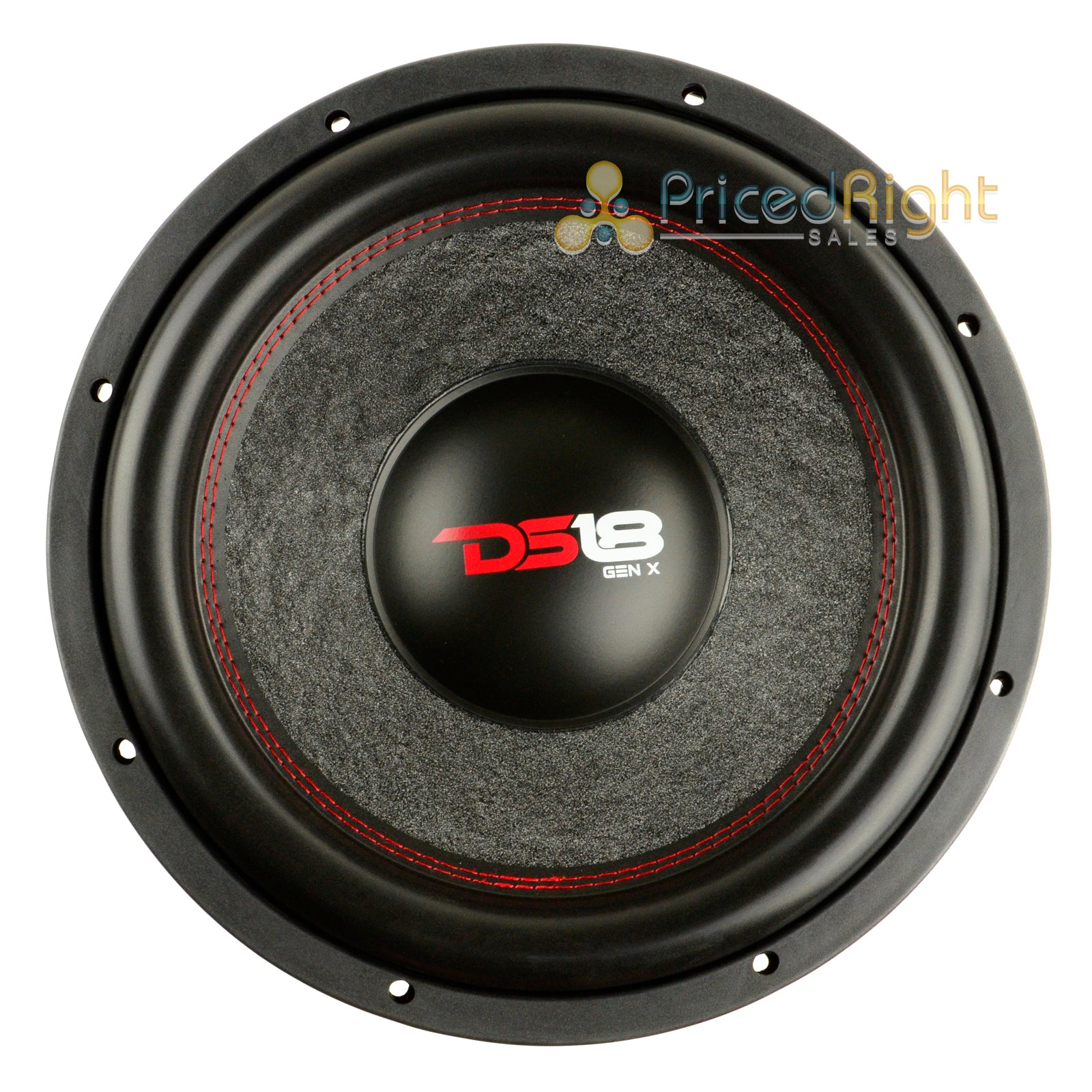 "1 DS18 GEN-X124D 12"" Inch Subwoofer 900 W Max Dual 4 Ohm Bass Sub Woofer Speaker"