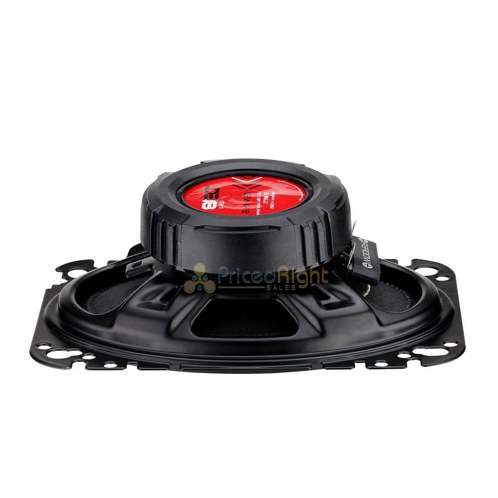 "Pair DS18 4x6"" 2 Way Coaxial Speaker 135 Watts Max Power 4 Ohm GEN-X4.6 GEN"