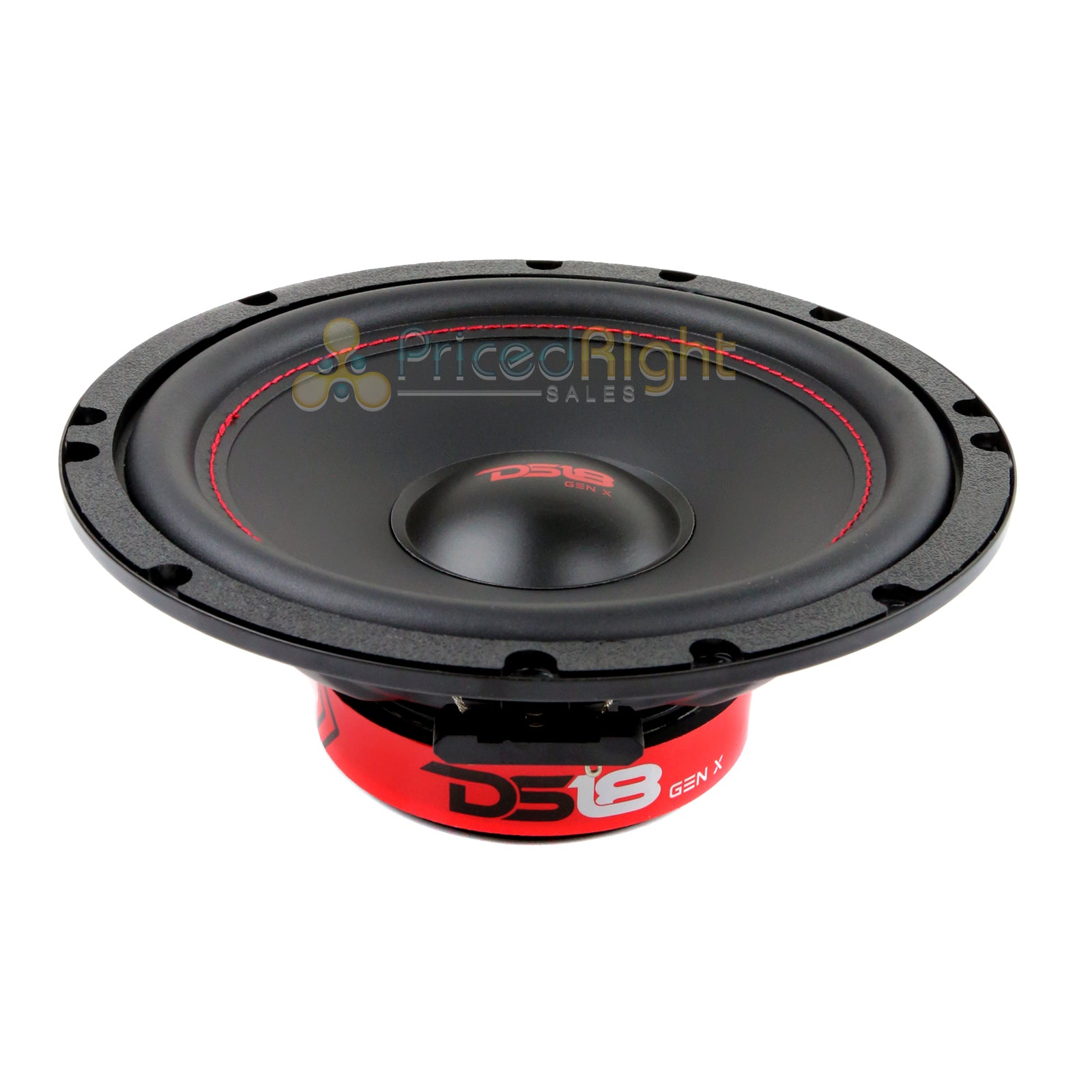 "DS18 6.5"" Inch 2 Way 150 Watts Max Component Speaker Set GEN-X6.5C with Tweeters"