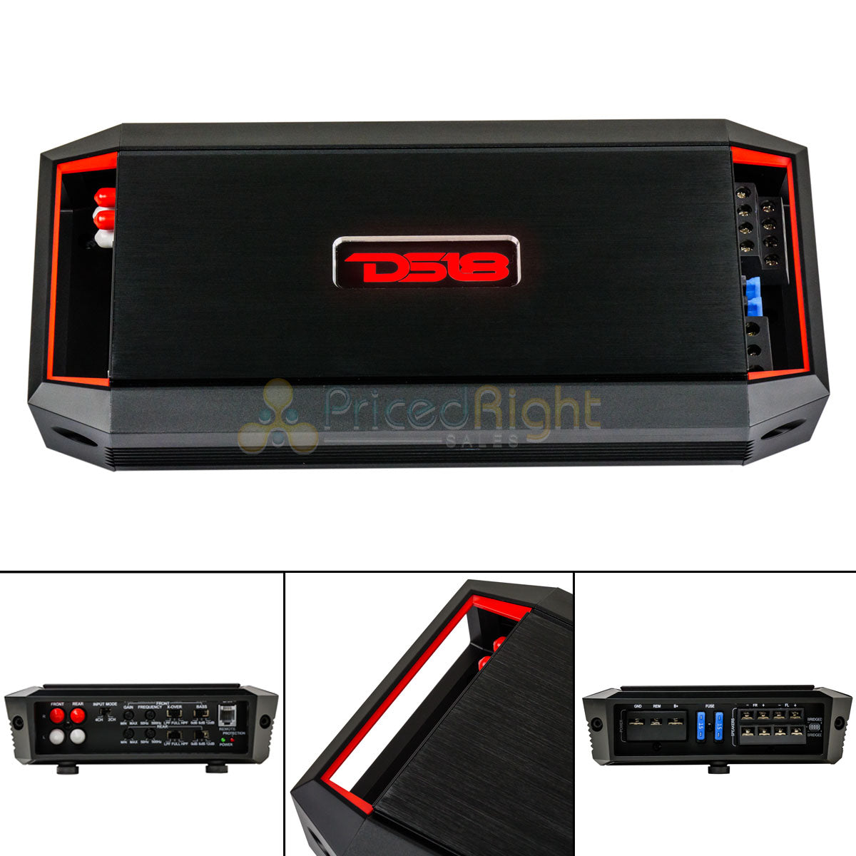 4 Channel Amplifier Class A/B Amp 900 Watts Max GEN-X900.4 DS18 Car Audio