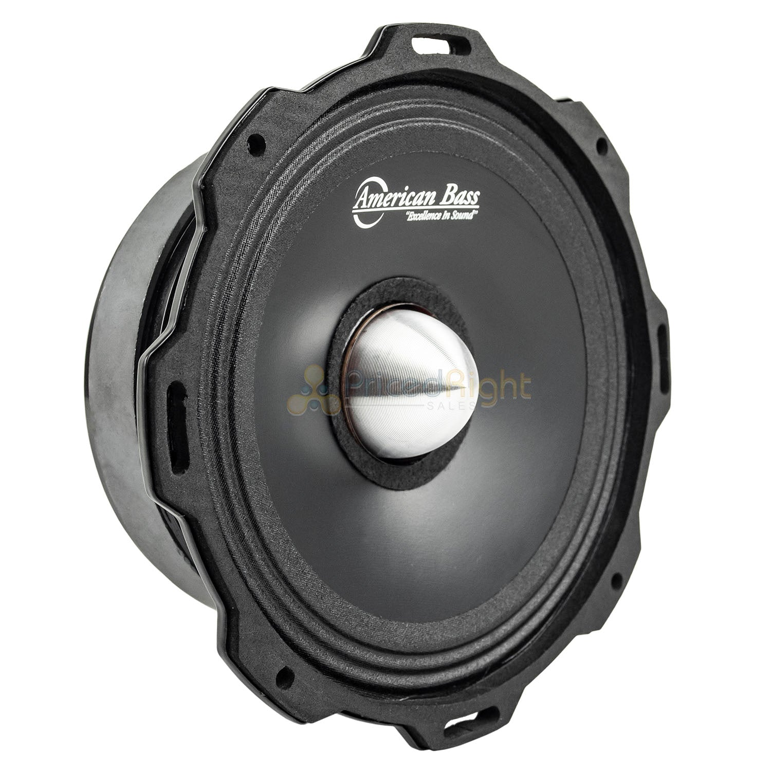 "American Bass GF-6.5 L-MR 6.5"" Midrange Car Speaker Godfather 600 Watts Max"