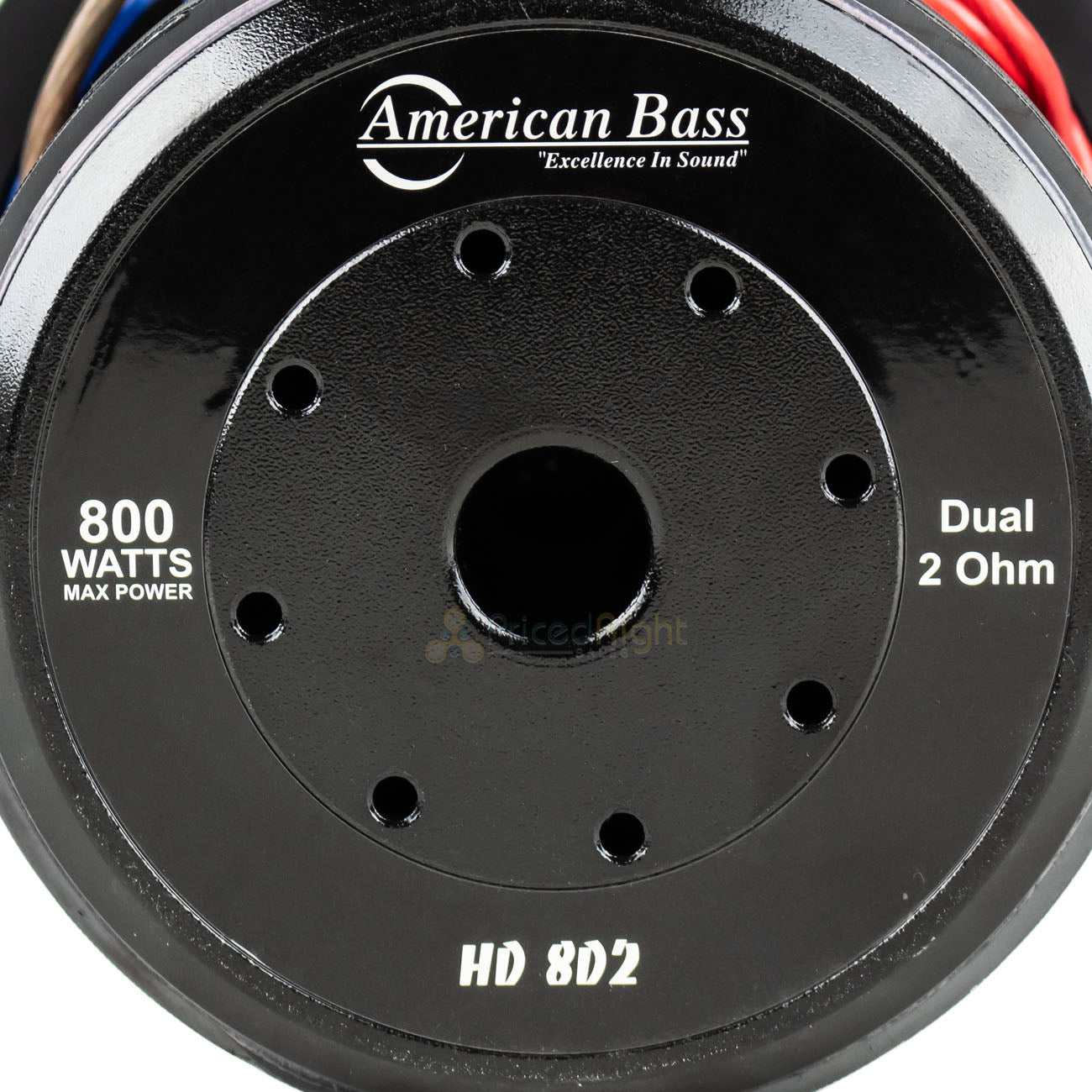 "American Bass HD-8D2 8"" Competition Subwoofers 800W Max Dual 2 Ohm Sub 2 Pack"