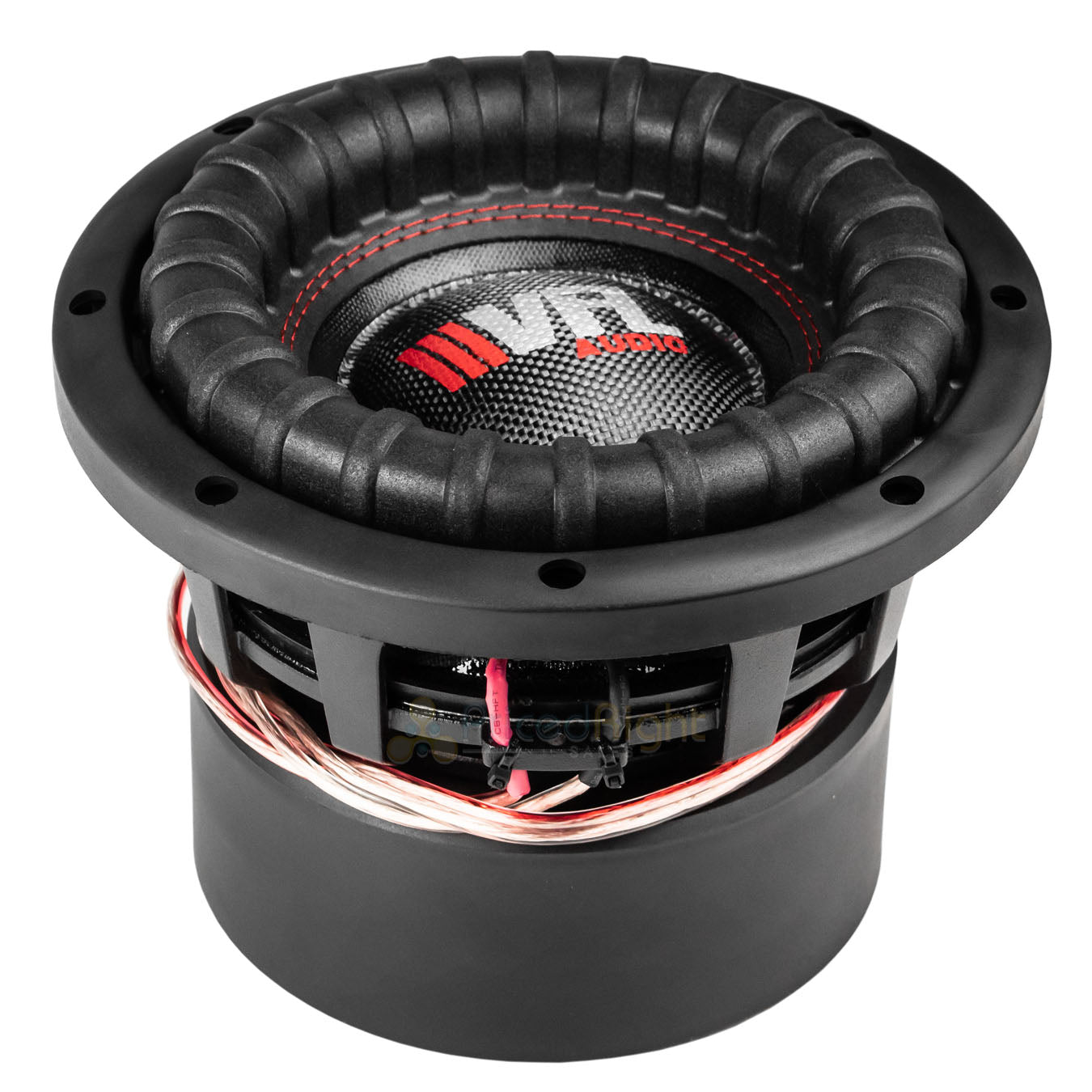 "American Bass 8"" Competition Subwoofer Dual 4 Ohm 1200W Max Sub VFL-8D4 Single"
