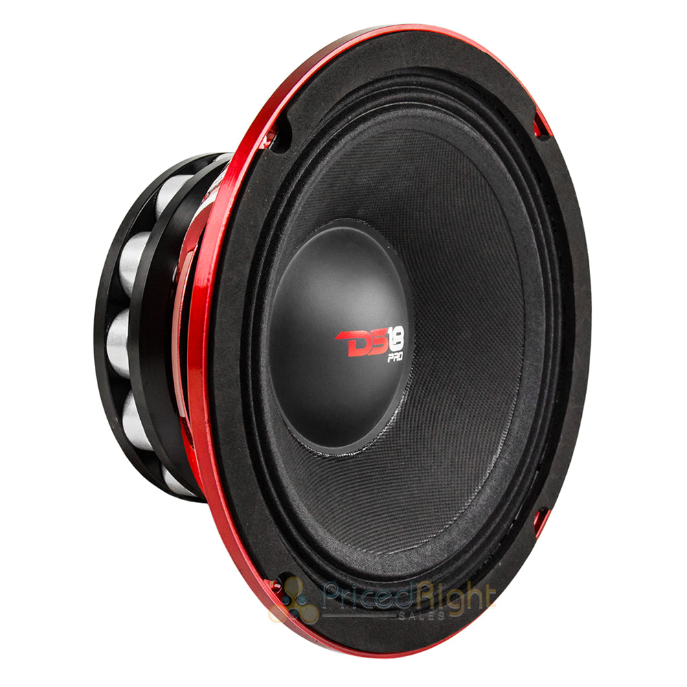 "DS18 4 Pack 8"" Inch Midrange Speakers 800 Watts Max Power PRO-NEO8R 4 Ohms"