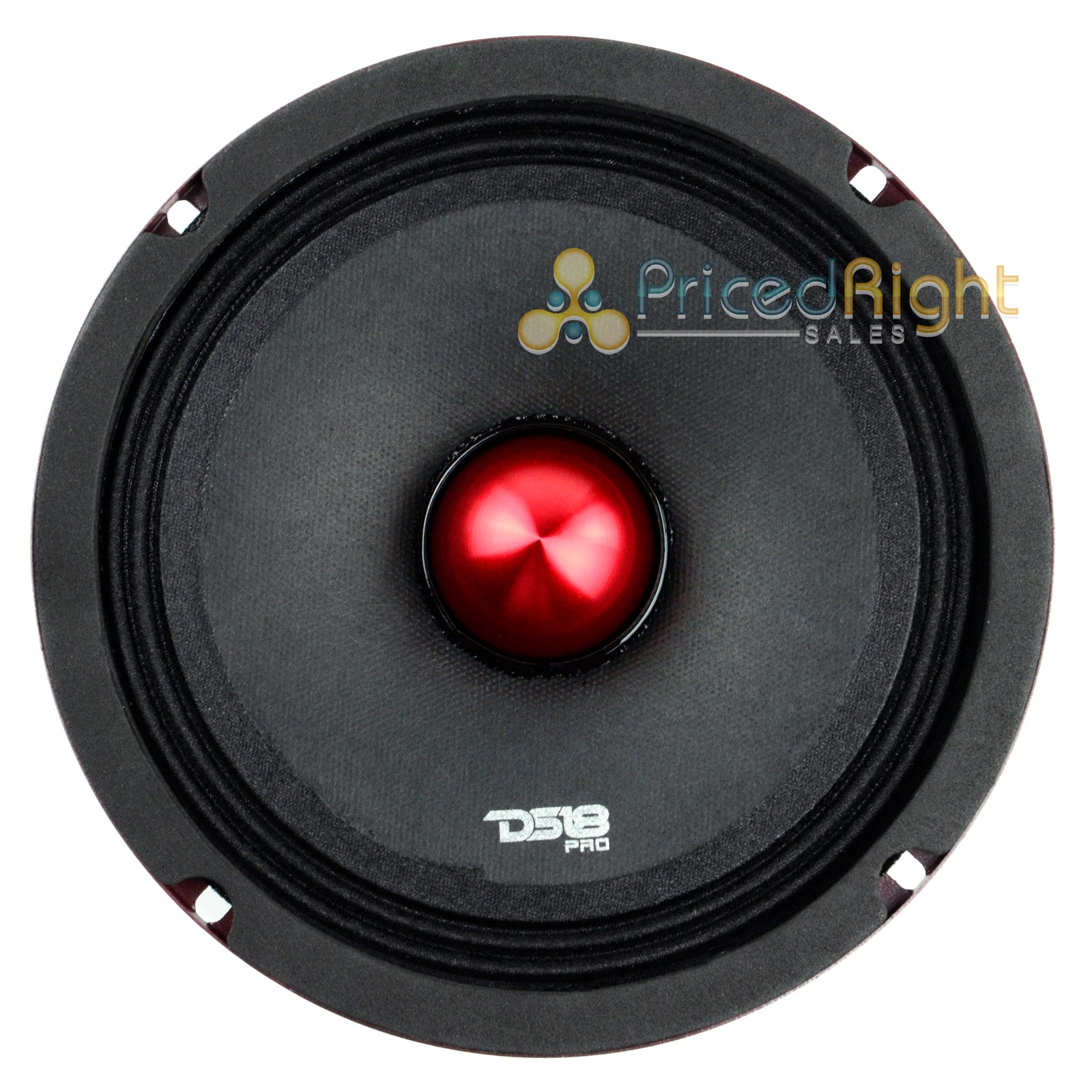 "2 DS18 PRO-X6.4BMSL 500W Max 6.5"" Slim Midrange Speaker and Bullet 4 Ohm Shallow"