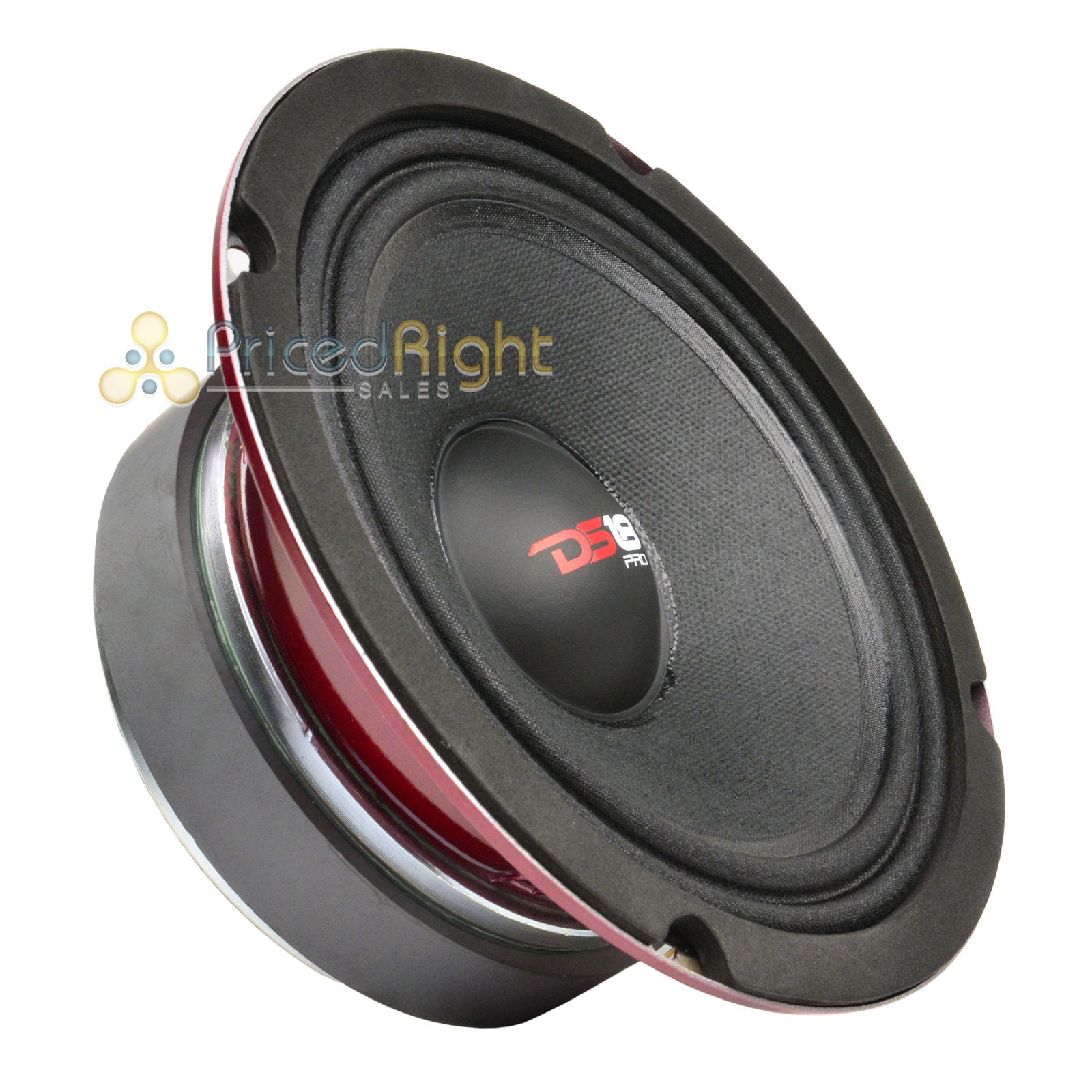 "DS18 PRO-X6MSE 6.5"" Midrange Speaker Slim 450 Watt Max Mid Loudspeaker Car Audio"