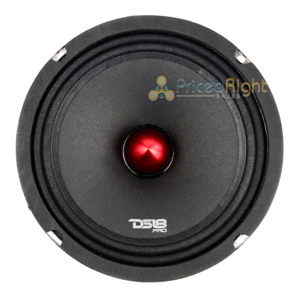 "4 DS18 PRO-X8BM 2400W Max 8"" Midrange Speakers Loudspeaker With Bullet 8 Ohm"