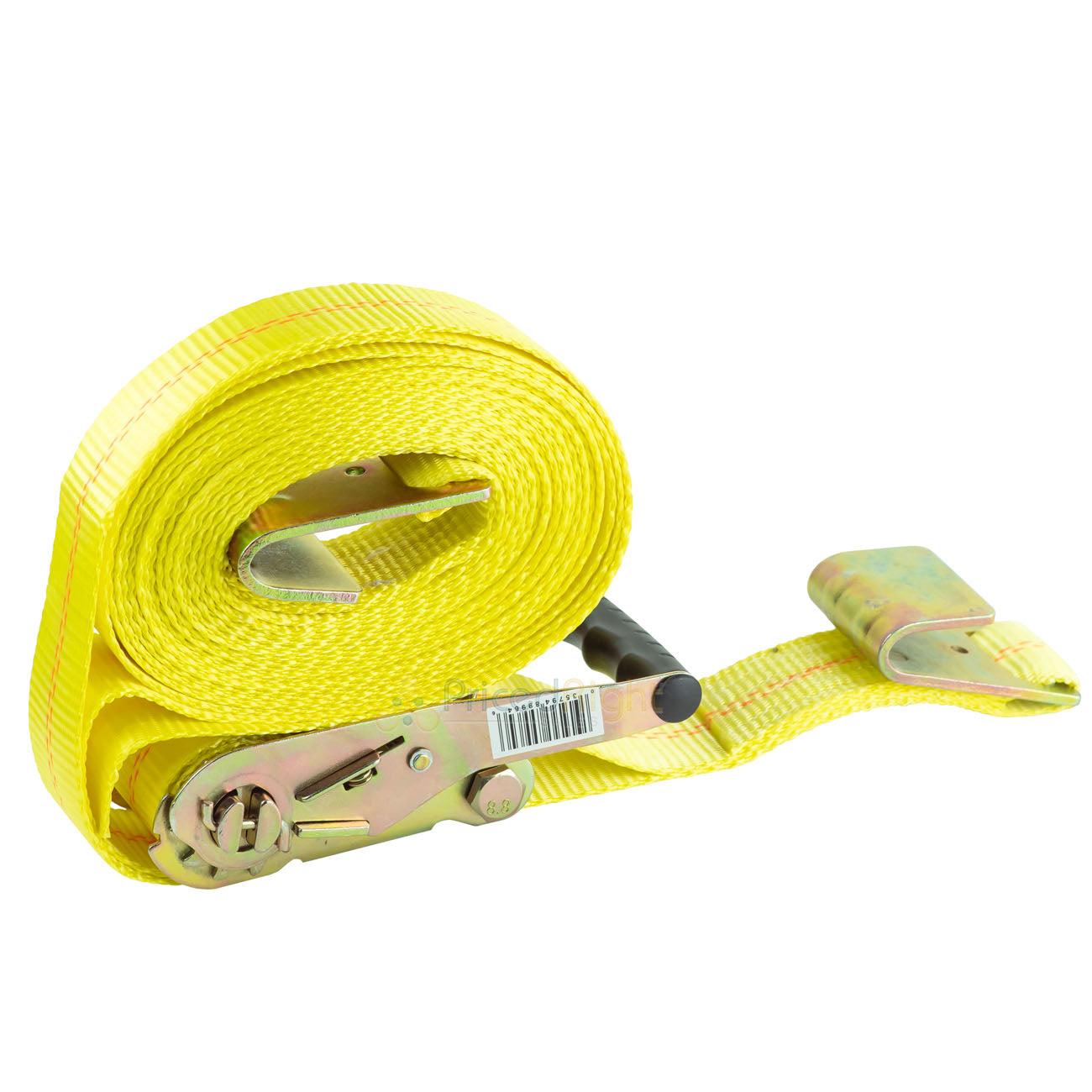 "Ratchet Tie Down Nylon 27 Ft Heavy Duty 2"" Strap 10000 Lbs Flat Hook Dot/Chp R"