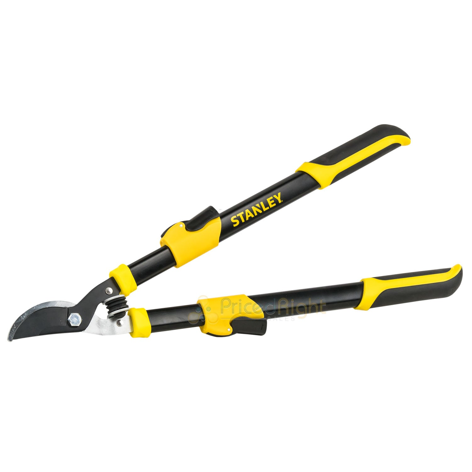 "Stanley Pruning Shears 25"" - 37"" Bypass Lopper Tree Trimmer Telescoping BDS6311"