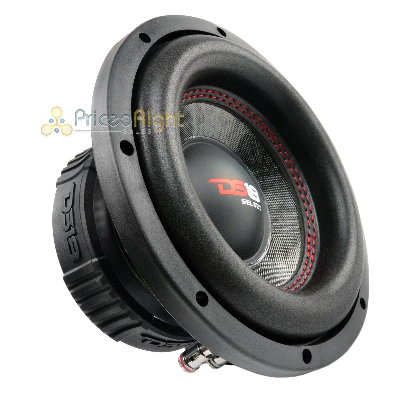 "4 DS18 SLC-8S 8"" Inch Subwoofer 400 Watts Max Power 4 Ohm Sub Select Series Pack"