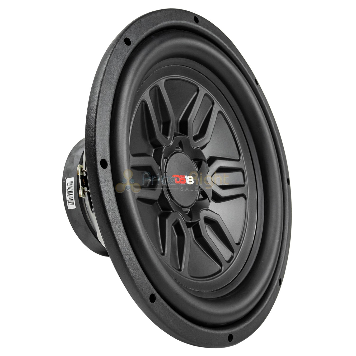 "DS18 SLC-MD12.4D 12"" Inch Subwoofers 1000 Watts Max Power Dual 4 Ohm Sub 2 Pack"