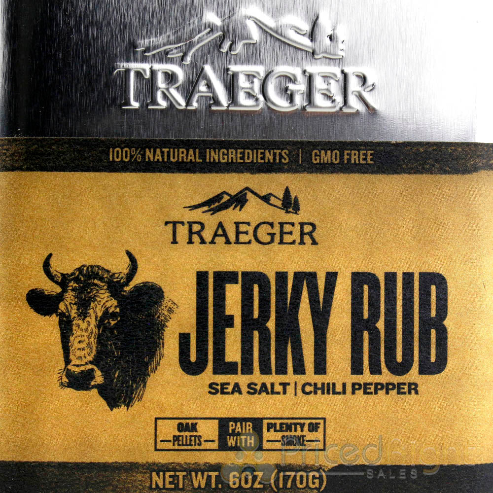 Traeger Grills Pork & Poultry Jerky Traeger BBQ Rub Gluten Gmo Free Natural Set
