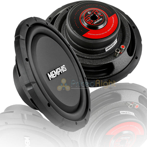 2 pack memphis audio 12 subwoofer shallow mount 500w peak single 4 oh pricedrightsales pricedrightsales