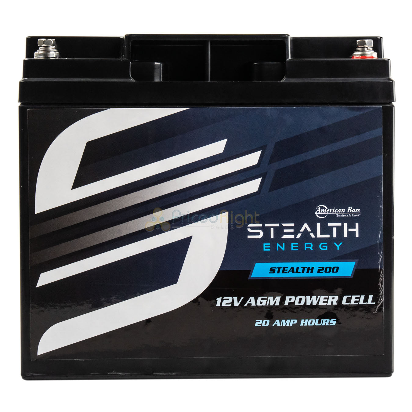 Car Audio Power Cell Battery Stealth 200 12V 20 Amp Hour Sealed American Bass