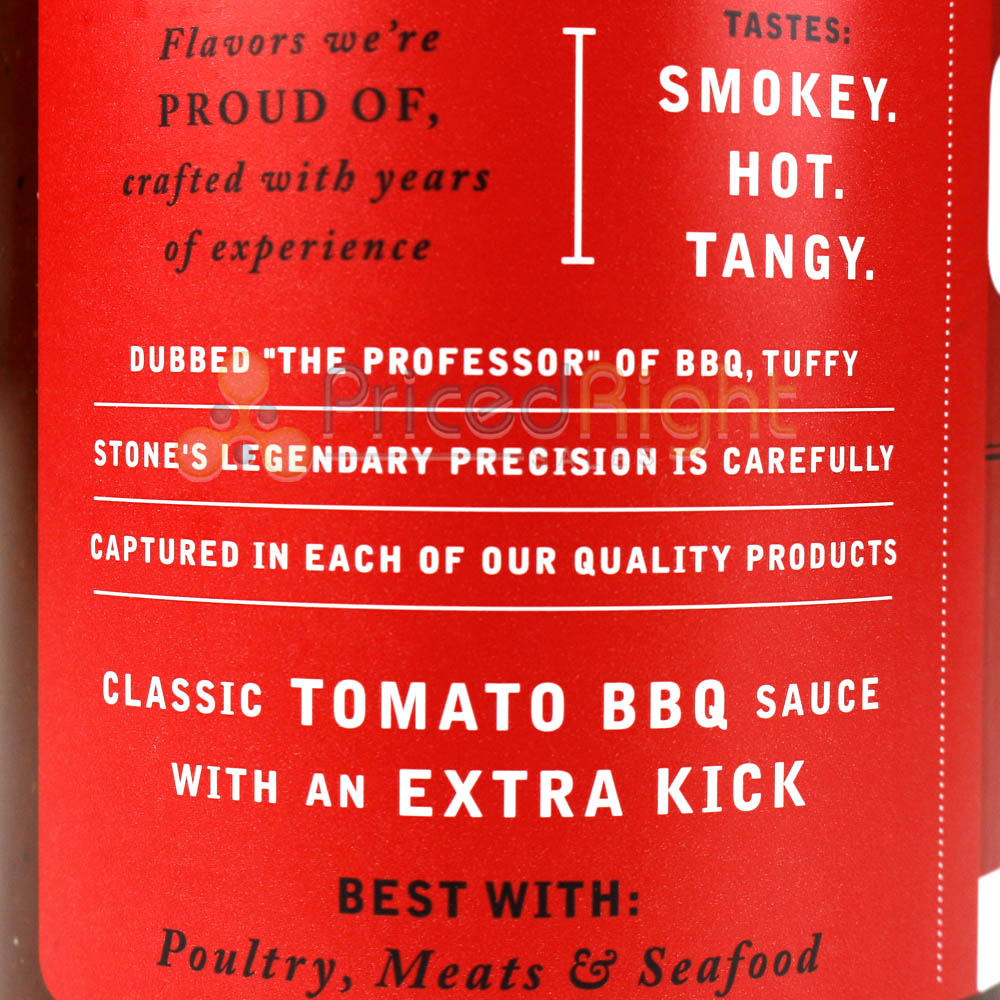 Cool Smoke Spicy Barbecue Sauce 18 Oz Competition Rated Tomato Based Recipe