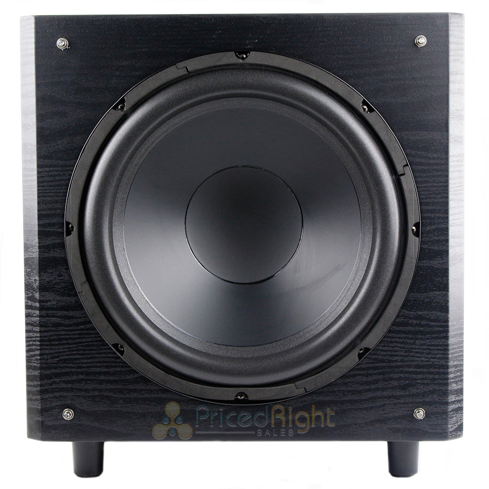 "MTX Audio TSW12 12"" 150 Watt RMS Vented Powered Subwoofer Low Distortion"