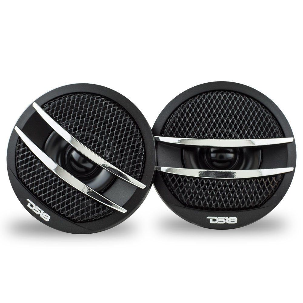 DS18 TX1S Dome Ferrite Tweeters 200 Watts Max 4 Ohm Set of 2
