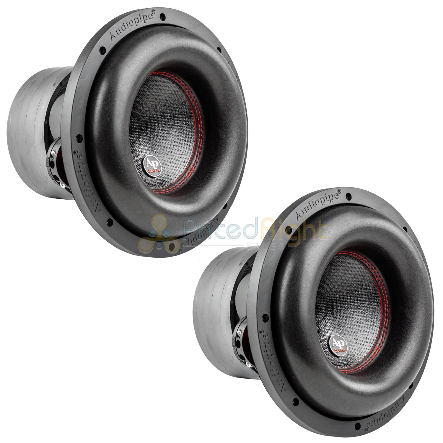 10 Subwoofer Dual 4 Ohm 900 Watts RMS Car Audio Sub Audiopipe TXX-BDC4-10