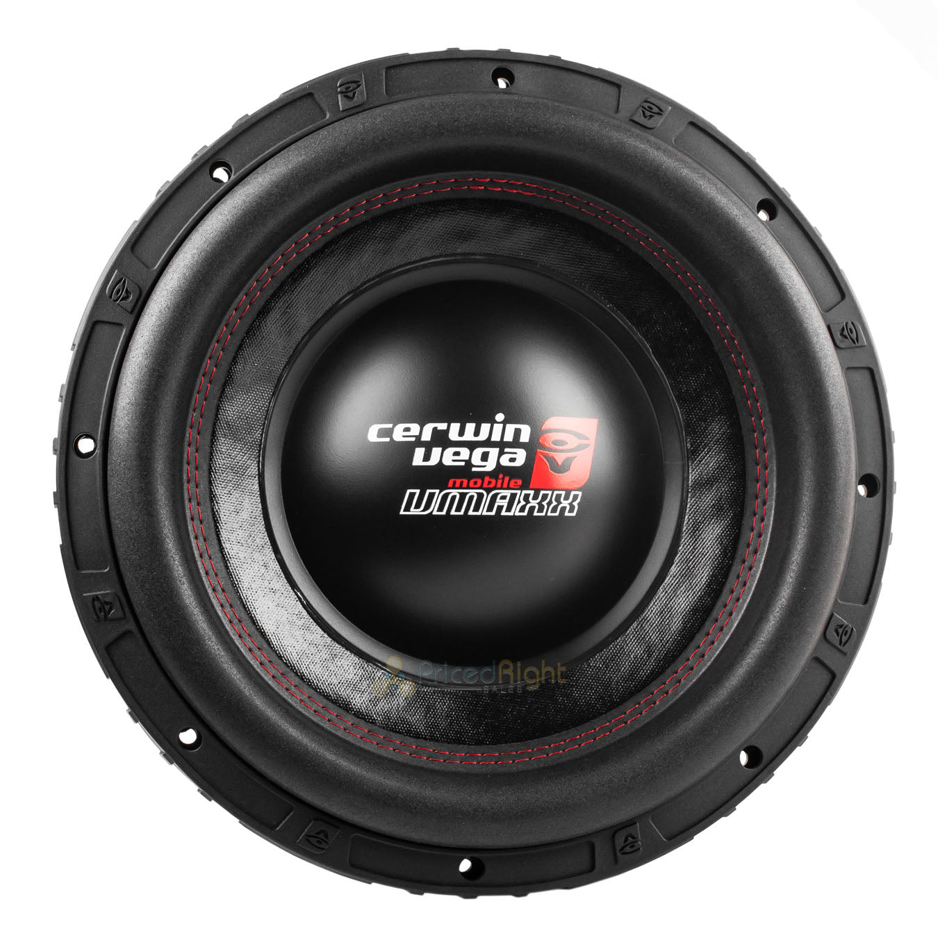 "12"" Dual 4 Ohm High Performance Subwoofer 2000 Watts Max Cerwin Vega VMAX12D4"