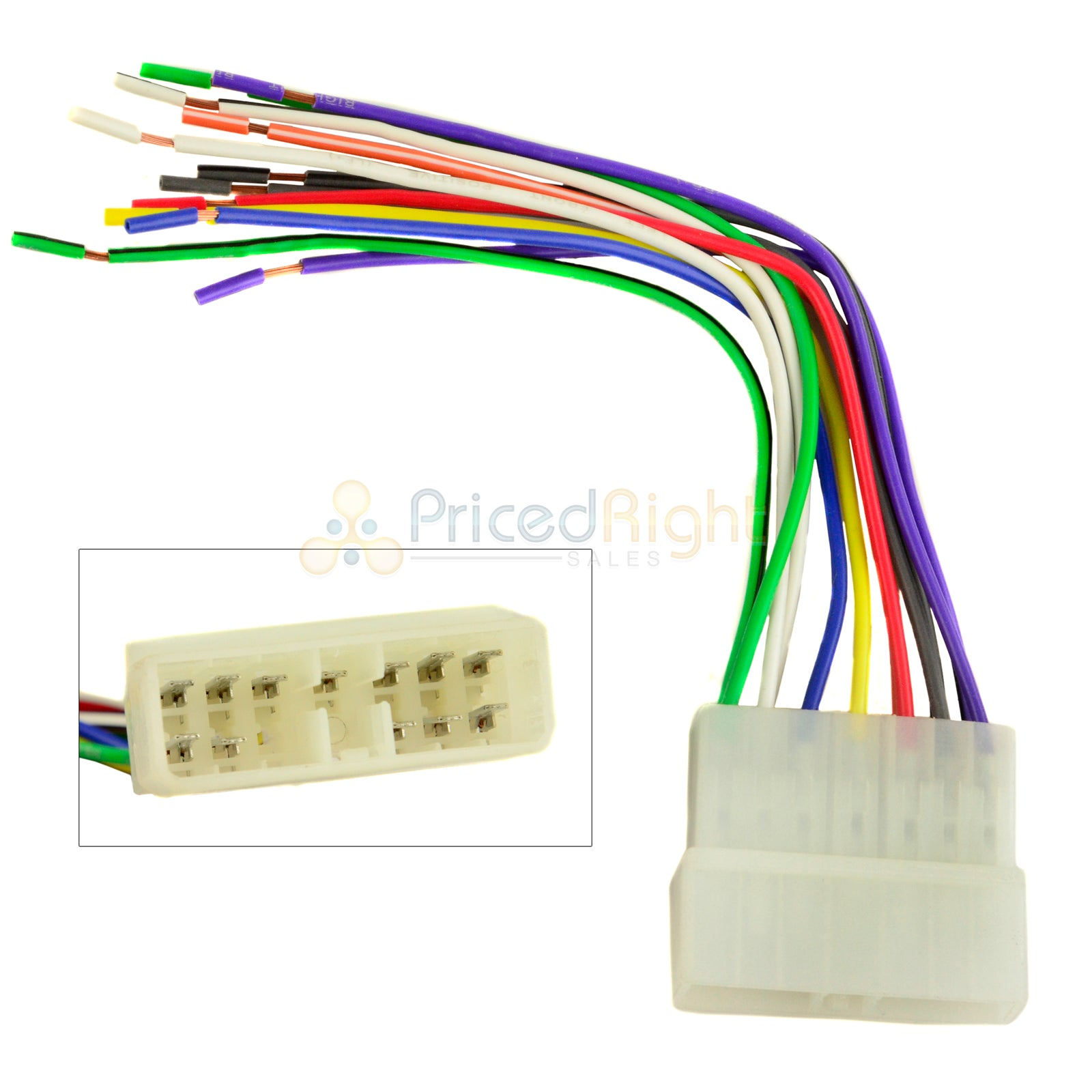 70-1002 wire harness for jeep je01b aftermarket radio installation car –  pricedrightsales  pricedrightsales
