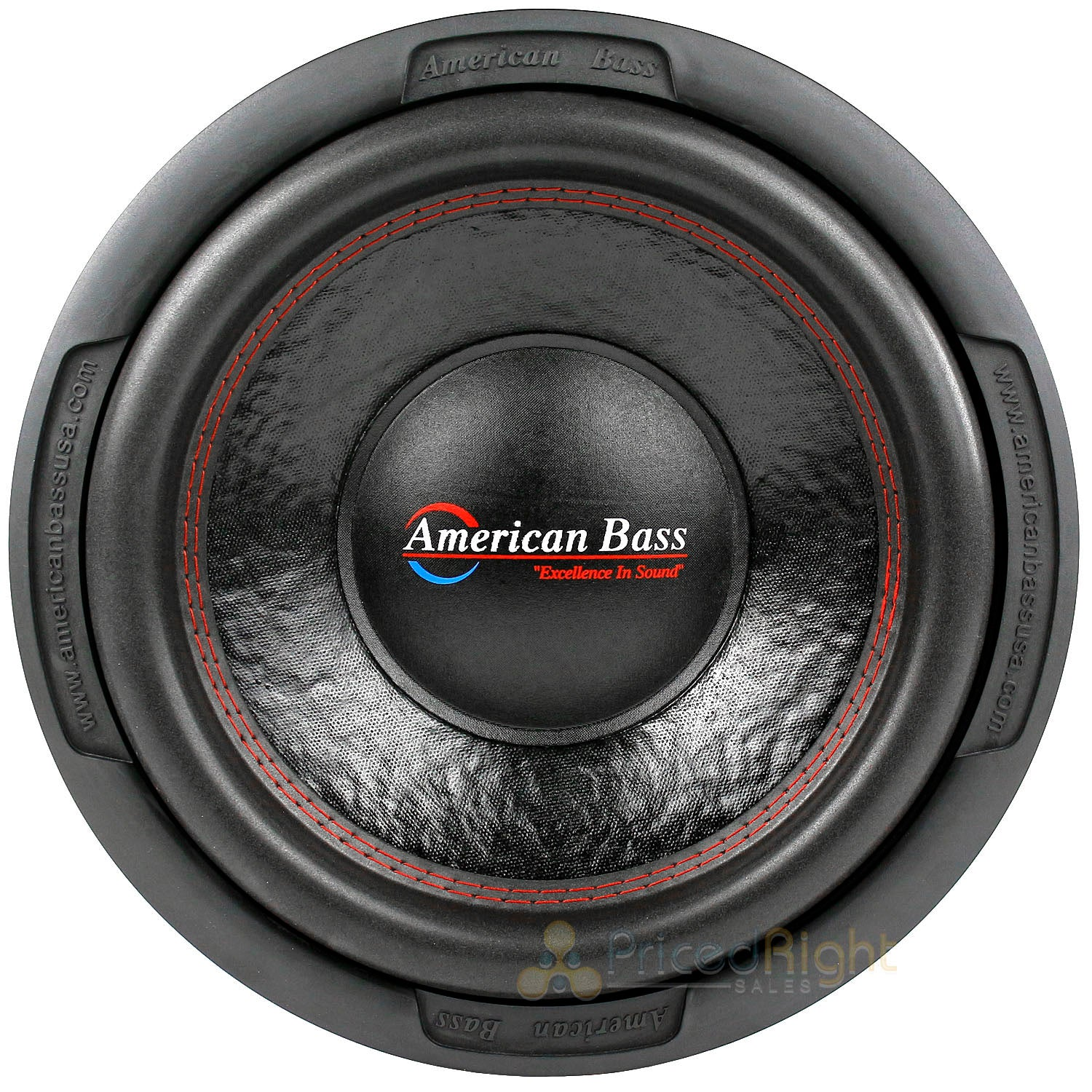 "2 Pack American Bass 12"" Subwoofers Dual 2 Ohm 1000 Watts Max Sub XD-1222"