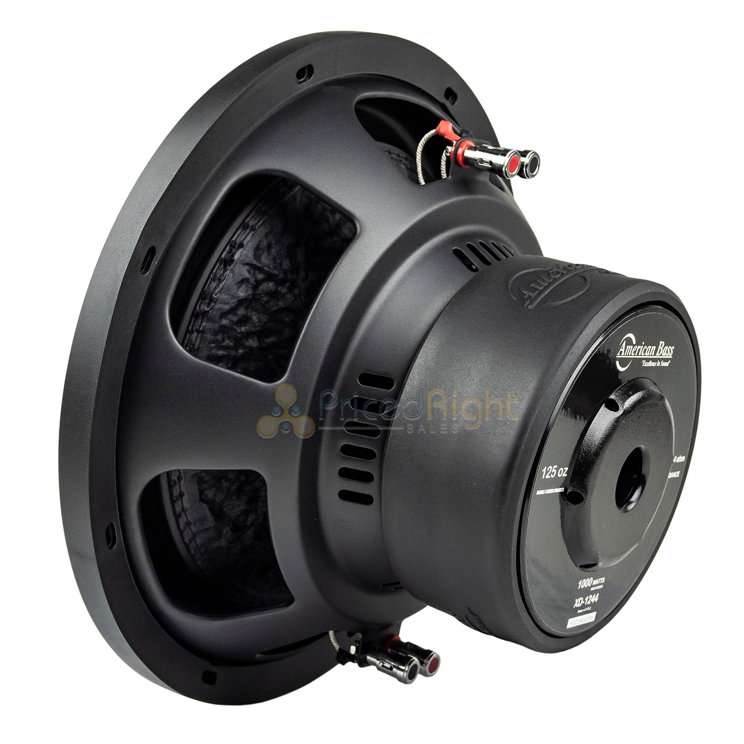 "American Bass XD-1244 12"" Subwoofer Dual 4 Ohm 1000 Watts Max Car Audio Single"