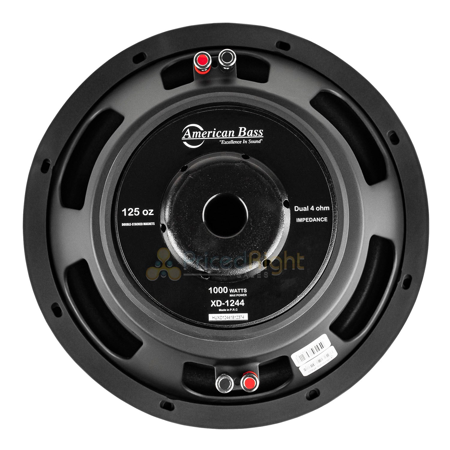 "2 Pack American Bass XD-1244 12"" Subwoofer Dual 4 Ohm 1000 Watts Max Car Audio"