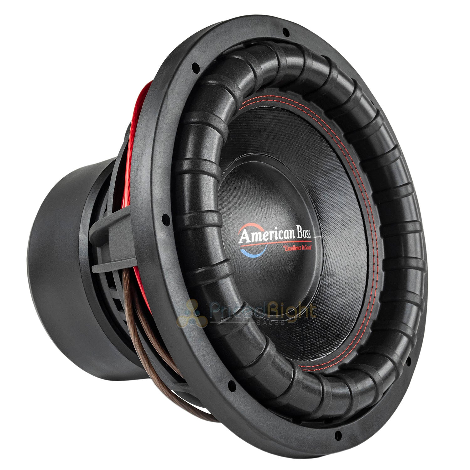 "American Bass XFL-1222 12"" Subwoofer Dual 2 Ohm 2000 Watts Max Car Audio Single"