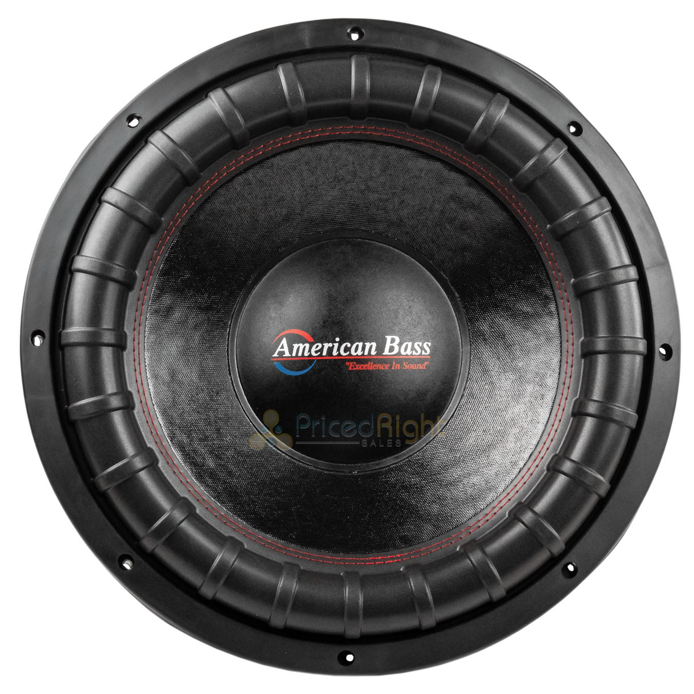 "American Bass XFL-1544 15"" Subwoofer Dual 4 Ohm 2000 Watts Max Car Audio Single"