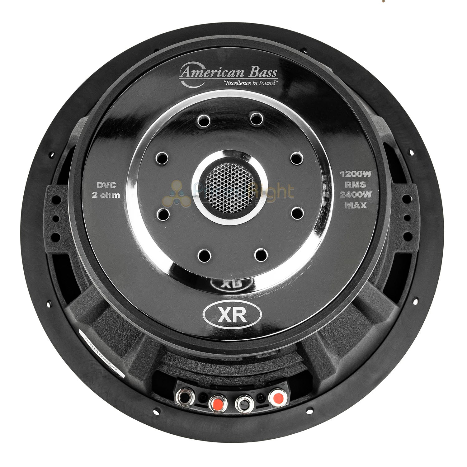 "American Bass XR-12D2 12"" Subwoofer Dual 2 Ohm 2400W Max 200 Oz. Magnet Single"