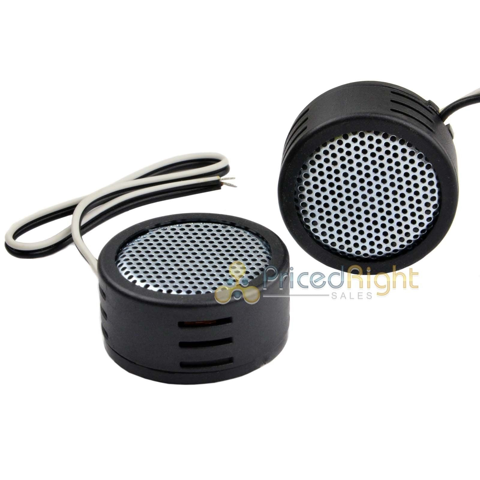"Pair Of Two Car Audio Super Loud 1"" Micro Dome Tweeters 320 Watts Fast Shipping"