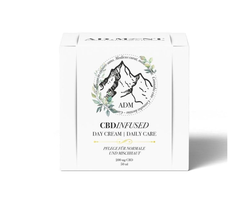 Hanf und Hemp - AD.MONT CBD - Infused Day Cream