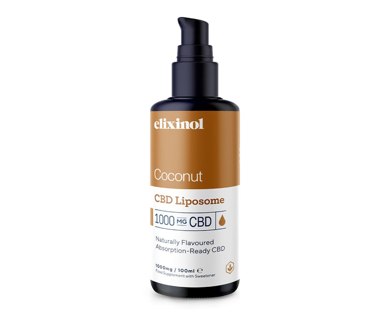Hanf und Hemp - Elixinol Coconut Liposomales CBD-Spray - 1000mg