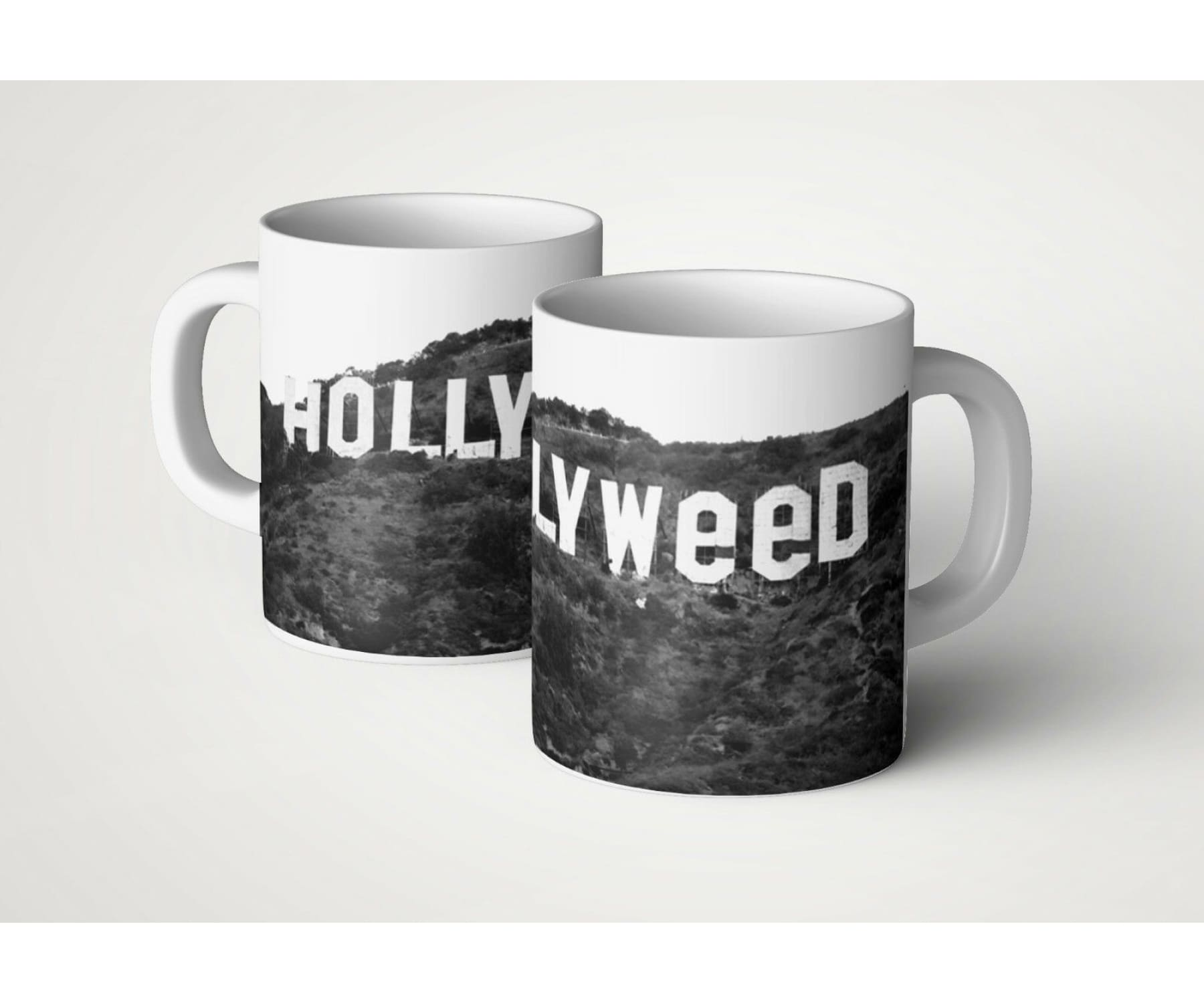 Hanf und Hemp - Hollyweed Kaffee Tasse Fun
