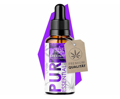 Hanf und Hemp - Original CanaLiebe/GreenNature® Hanföl Premium Essential Öl *Lila Edition* 10ml