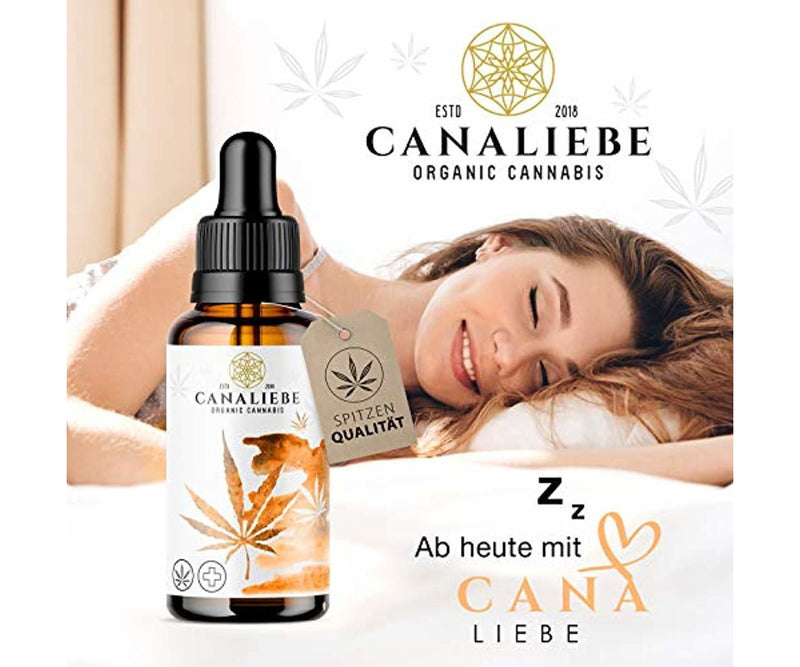 Hanf und Hemp - Original CanaLiebe® Premium Essential *Orange Edition* 10ml - Hanföl
