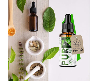 Hanf und Hemp - Original GreenNature® Premium Essential *Green Edition* 10ml