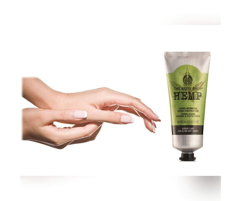 Hanf und Hemp - The Body Shop Hanfcreme - 100ml