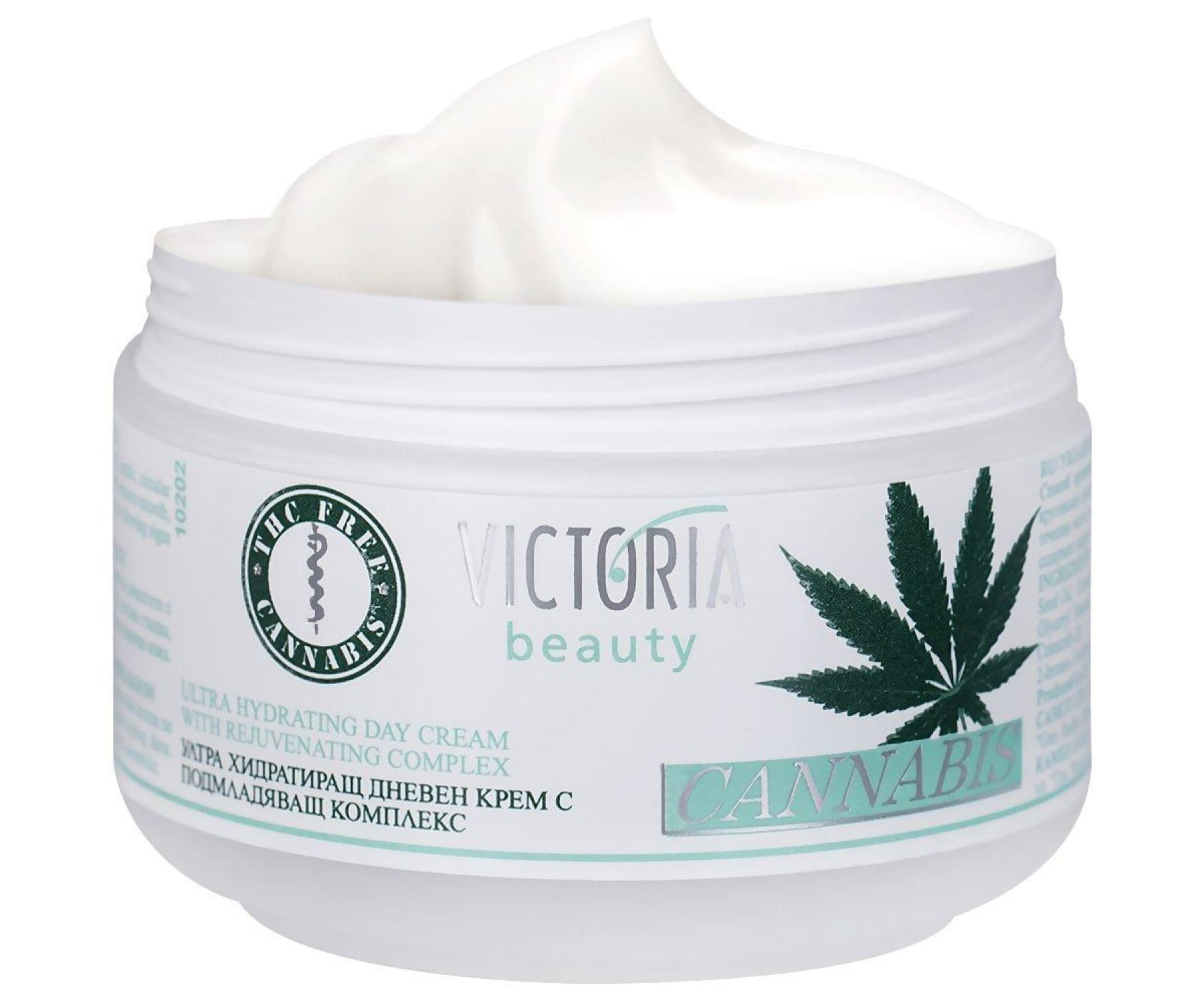 Hanf und Hemp - Victoria Beauty - Hanfcreme - Cannabis Tagescreme - Anti-Aging 50ml